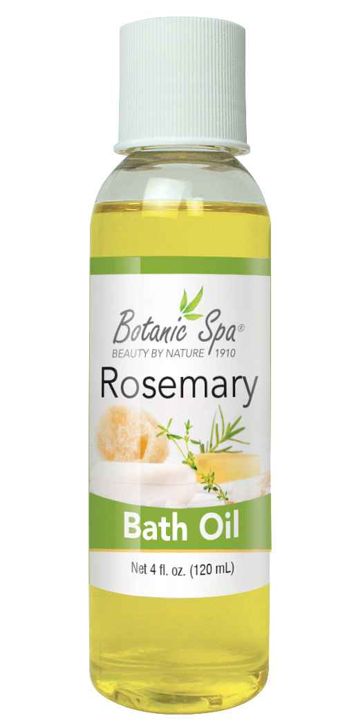 Botanic Spa Rosemary Relaxing Bath Oil - 4 Oz