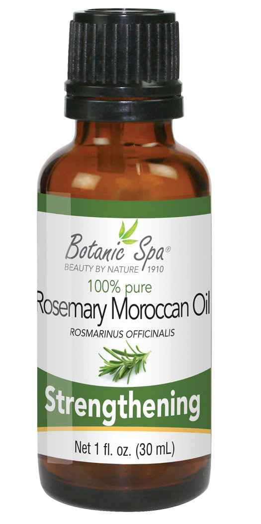 Botanic Spa Rosemary Moroccan Essential Aromatherapy and Body Oil - 1 Oz