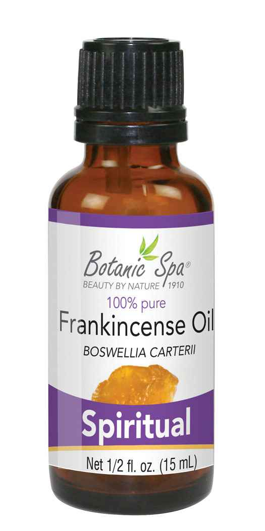Botanic Spa Frankincense Essential Aromatherapy and Body Oil - 1.2 Oz