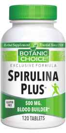 Botanic Choice Spirulina Plus 120 tablets