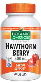 Hawthorn Berry 500 mg 90 Vegetarian Tabletsnohtin Sale $5.50 SKU: 1359 ID: BC05 HAWT 0090 UPC: 703308040401 :