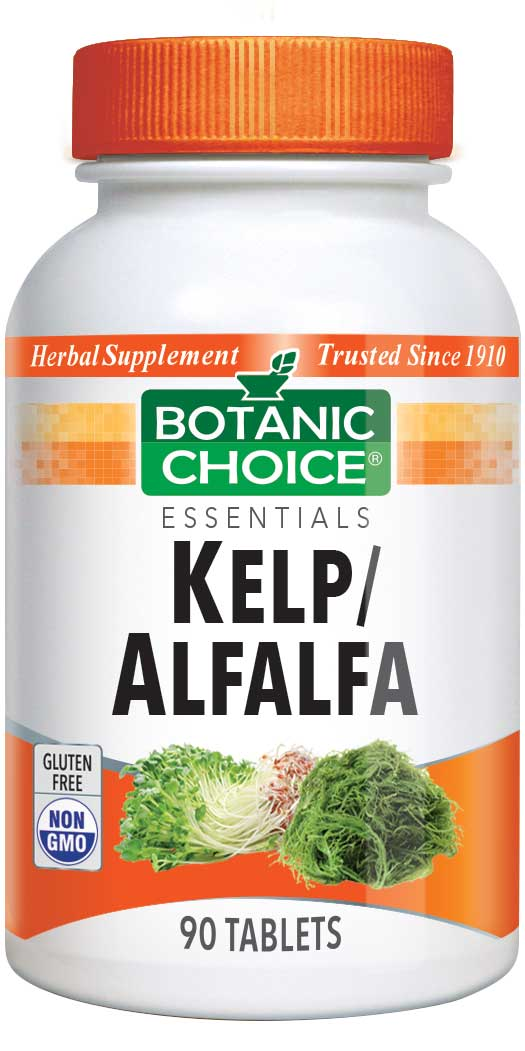 Botanic Choice Kelp/Alfalfa Supplement - 90 Tablets