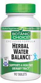 Herbal Water Balance 90 Vegetarian Tabletsnohtin