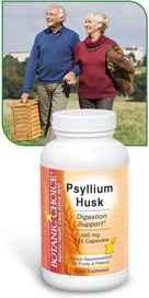 Psyllium Husk Capsules 120 capsulesnohtin