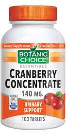 Cranberry Concentrate 140 mg 100 tablets