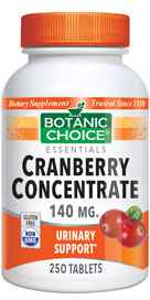 Cranberry Concentrate Tablets 250 tabletsnohtin