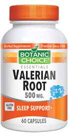 """""""Valerian Root is a natural sleep solution that calms the mind to ease you into sleep. Valerian helps those who periodically have trouble falling asleep and who wake and toss and turn in the middle of the night. Best of all, there's no morning grogginess."""""""