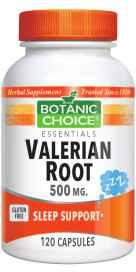 Valerian Root 120 capsules