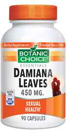 Damiana Leaves Capsules 450 mg 90 capsules