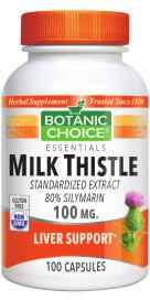 Milk Thistle 100 capsules