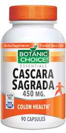 Cascara Sagrada 450 mg 90 capsules