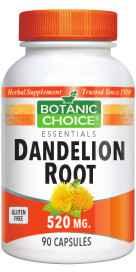 Dandelion Root 520 mg 90 capsulesnohtin