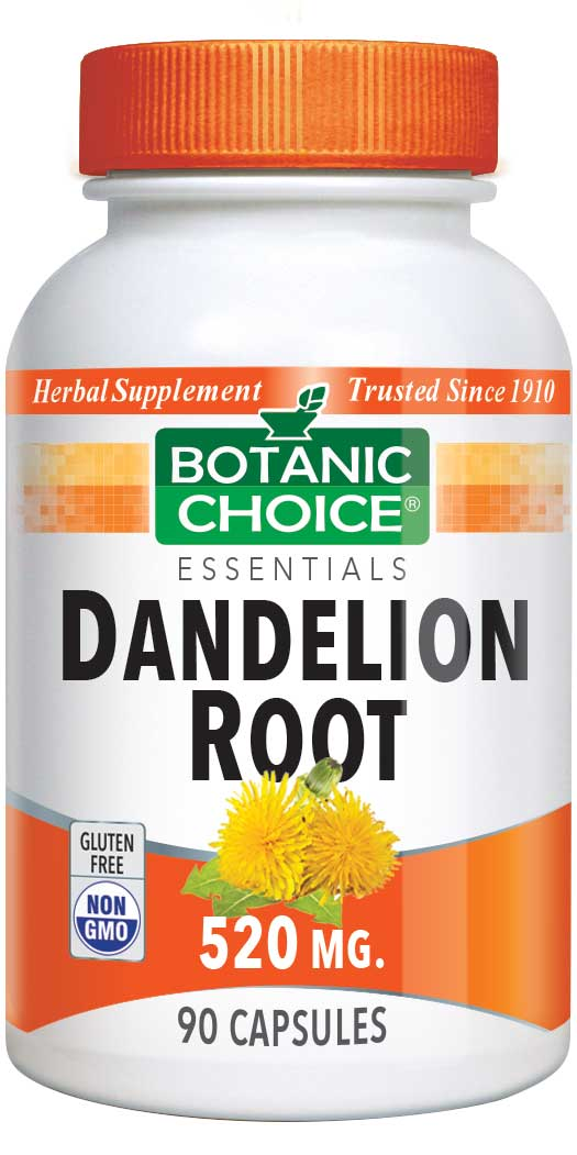 Botanic_Choice_Dandelion_Root_520_mg__Liver_&_Gall_Bladder_Support_Supplement__90_Capsules
