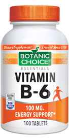 Vitamin B-6 100 mg 100 tabletsnohtin Sale $4.00 SKU: 1694 ID: VC05 VITB 0100 UPC: 703308940107 :