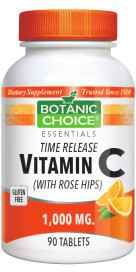 Timed Release Vitamin C with Rose Hips 90 tablets
