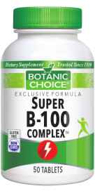 Super B-100 Complex 50 tabletsnohtin