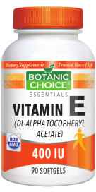 Vitamin E dl-Alpha 400 IU 90 softgels