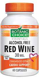 Red Wine Extract 30 mg 60 capsules