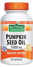Pumpkin Seed Oil 1000 mg 90 softgels