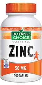 Zinc 50 mg 100 tabletsnohtin
