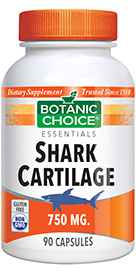 Shark Cartilage 750 mg 90 capsules