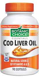 Cod Liver Oil with Vitamins A / D 90 softgels