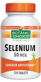 Selenium 50 mcg 120 tablets