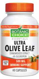 Ultra Olive Leaf 500 mg 60 capsules