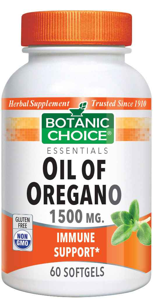 Botanic_Choice_Oil_of_Oregano_Extract_1500_mg_-_Immune_Support_Supplement_-_60_Softgels