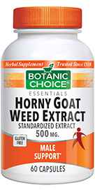 Horny Goat Weed Extract 500 mg 60 capsules