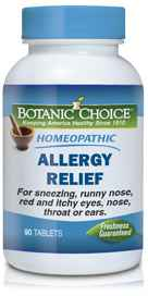 Homeopathic Allergy Relief Formula 90 tabletsnohtin