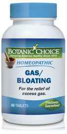 Homeopathic Gas-Bloating Formula 90 tabletsnohtin