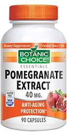 Pomegranate Extract 40 mg 90 capsules