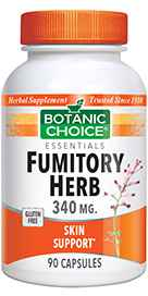 Fumitory Herb 340 mg 90 capsules