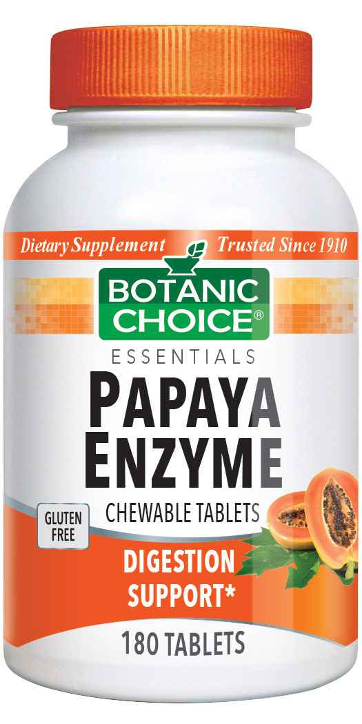 Botanic_Choice_Chewable_Papaya_Enzyme_Tablets_49_mg_-_Digestive_Support_Supplement_-_180_Tablets