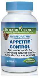 Homeopathic Appetite Control Formula 90 tabletsnohtin
