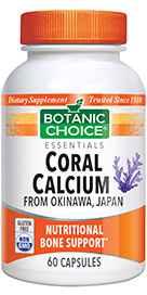 Coral Calcium 500 mg 60 capsules