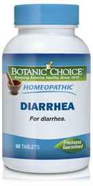 Homeopathic Diarrhea Formula 90 tabletsnohtin