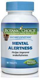 Homeopathic Mental Alertness Formula 90 tabletsnohtin