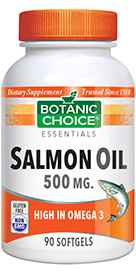Salmon Oil Omega 3 - 500 mg 90 softgels