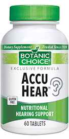 Accu Hear 60 Vegetarian Tablets