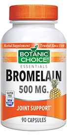 Bromelain Capsules 500 mg 90 capsulesnohtin