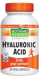 Hyaluronic Acid - 30 mg 30 capsules