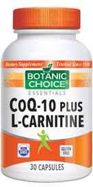 CoQ-10 Plus L-Carnitine 30 capsules