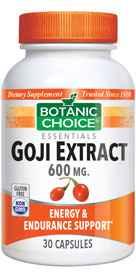 Goji Extract 600 mg 30 capsules