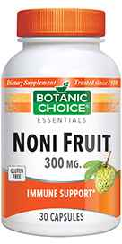 Noni Fruit 300 mg 30 capsules