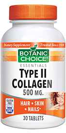 Type II Collagen Tablets 500 mg 30 tablets