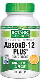 AbsorB-12 Plus 30 Vegetarian Tabletsnohtin