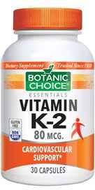 Vitamin K2 80 mcg 30 capsules