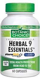 Herbal 9 Essentials 60 capsules